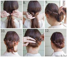 tutorial peinado facil y bonito invitada boda diy blog