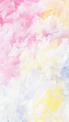 Pastel painted wallpaper