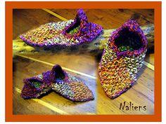 woolenslippers *the naliens* by nelixilen