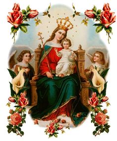 Our Lady, Queen of the Universe ❤ Mother Of Christ, Jesus Mother, Blessed Mother Mary, Blessed Virgin Mary, I Love My Mother, Lady Of Lourdes, Images Of Mary, Mama Mary, Santa Teresa