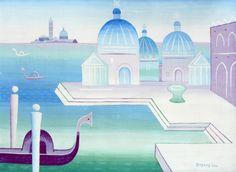 Jan Zrzavý - Benátky / Venice, 1928