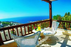 Seaview Bodrum Yalikavak Apartments with Large Terrace