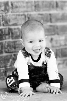 "6 month old photo ideas | ... months). ""B"" is a sweet and absolutely beautiful little boy"