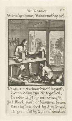 Caspar Luyken   Draaier, Caspar Luyken, Jan Luyken, Jan Luyken, 1694  