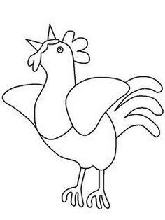 risco de galinha