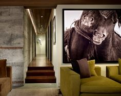 Contemporary Family Room Art Design, Pictures, Remodel, Decor and Ideas