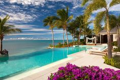 The 40 Most Unique Pools From Around The World | Architecture & Design The Verandah Pool at Jumby Bay in Antigua