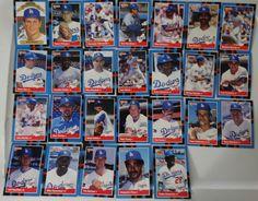 1988 Donruss Los Angeles Dodgers Team Set of 26 Baseball Cards #LosAngelesDodgers