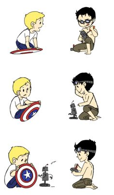 Kid Tony and Steve
