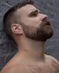 Beard Types: 5 Styles Based On Face Shape - Mens Hair Styles Great Beards, Awesome Beards, Hairy Hunks, Hairy Men, Beard Styles For Men, Hair And Beard Styles, Scruffy Men, Handsome Man, Hot Men
