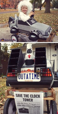 Back to the Future Doc Brown - Cute Kids Halloween Costumes! Over 25 of the Best DIY Halloween Ideas to inspire you on Trick or Treat night!