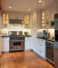 Old Mill Park - traditional - kitchen - san francisco - Barbra Bright Design