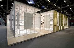 Ariostea booth at Cersaie 2012 by Marco Porpora, Bologna trade fairs
