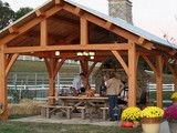 Cypress Pavilion - traditional - outdoor products - nashville - by Homestead Timber Frames