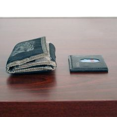 The Slimplistic Wallet is a slim, simplistic, practical modern wallet that is just slightly larger than a single credit card that holds up to 10 cards.