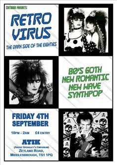 Retro Virus @ Atik, Middlesbrough