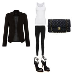 """""""Untitled #254"""" by kaittd on Polyvore featuring American Vintage, rag & bone and Chanel"""