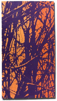 'Autumn 3,' made by Barbara Watler, made in Hollywood, California, United States, dated 2007, 107 x 58.5 in