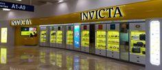 Invicta en Aeropuerto Internacional de Cancún. Terminal 1.