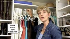 Clutter Video Tip: 5 Ways to Organize Your Wardrobe Closet Like a Pro