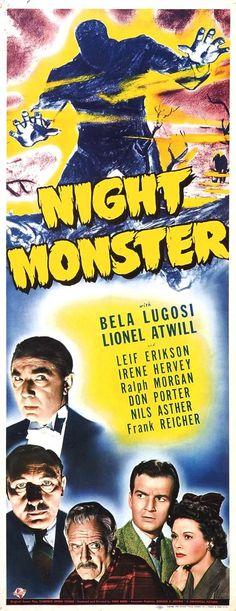 #vintage #horror #poster #movie #belalugosi