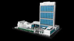 21018 United Nations Headquarters - Explore - Architecture LEGO.com