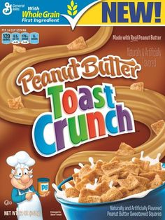 Peanut Butter Toast Crunch Cereal Review