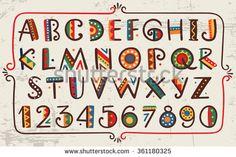 Стоковые вектора и векторный клип-арт Alphabet | Shutterstock