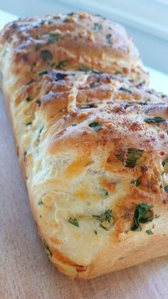 Herb and Cheese Bread Bread Recipes, Baking Recipes, Zeina, Danish Food, Swedish Recipes, Mindful Eating, Gluten Free Baking, Bread Baking, Food Inspiration