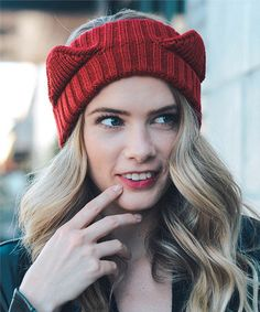 This Red Cat Ear Headband is perfect! #zulilyfinds