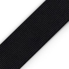 "The New Black: 1"" Chica Band Non-Slip Headband in solid black color. Retail Price: $12.00. Shop now at www.ChicaBands.com!"
