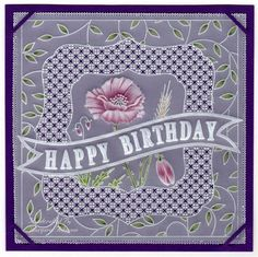 Inspiration | docrafts.com Vellum Paper, Paper Cards, Birthday Cards, Happy Birthday, Parchment Cards, Crafts To Make, Barbara Gray, Projects To Try, Card Making
