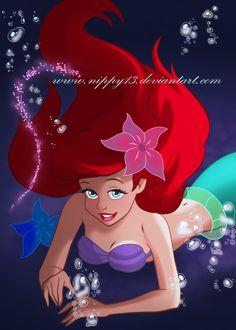 *ARIEL ~ The Little Mermaid, 1989