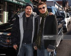 Don Henfield and Jeremy Renner during 2006 Park City - General Motors in Deer Valley - Don Henfield and Jeremy Renner in Deer Valley, Utah, United States.