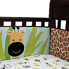 Lambs & Ivy® Peek-a-Boo Jungle Crib Bumper