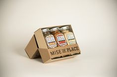 Mise En Place #Spices - creative and useful #packaging #design solution on Behance