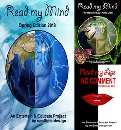 Read My Mind spring issue 2018 is online! My Spring, My Mind, Lily, Mindfulness, Author, Entertaining, Magazine, Education, History