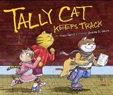 Tally Cat Keeps Track -- a clever children's book for teaching tallying (data collection/graphing) in Gr. 1-3