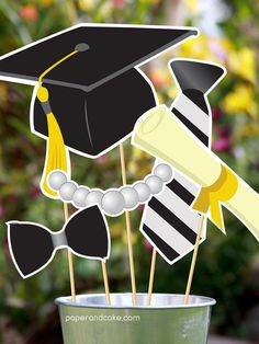 Graduation Printable PHOTOBOOTH PROPS  EDITABLE by paperandcake, $12.95