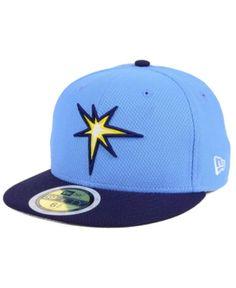 f6667218614 New Era Kids  Tampa Bay Rays Batting Practice Diamond Era 59FIFTY Cap