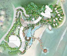 b design studio: Landscape Architecture & Graphics Landscape Architecture Model, Architecture Mapping, Landscape Architecture Drawing, Landscape Design Plans, Architecture Graphics, Architecture Plan, Urban Landscape, Mansion Designs, Parking Design
