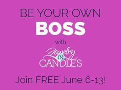 FREE REP sign ups are going on now!  Free sign up includes your own custom e-commerce store and back office with tons of resources!  We require NO quotas to remain active.  You have nothing to lose!  See how Jewelry In Candles can change your life today!  I'd love to have you on my team.  Go to https://www.jewelryincandles.com/store/pattydeleo to see for yourself why our company stands apart from the others!  You can join right at my store!  Welcome aboard!