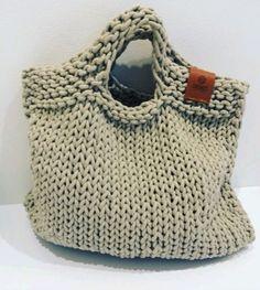 Pletená stylová kabelka