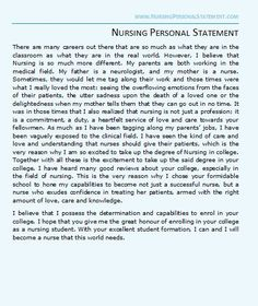 Essay related to nursing