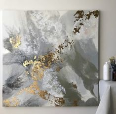 "Receive excellent recommendations on ""abstract art paintings techniques"". They are available for you on our website. Acrylic Pouring Art, Acrylic Art, Acrylic Painting Canvas, Abstract Canvas, Canvas Wall Art, Mermaid Wallpaper Backgrounds, Leaf Art, Contemporary Paintings, Diy Art"