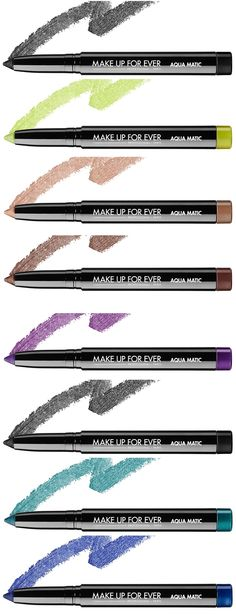 Make Up For Ever Aqua Matic Launches for Summer