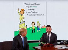 Jimmy Kimmel Ghostwrites a Children's Book for Donald Trump Titled Winners Aren't Losers. #jimmykimmel #donaldtrump