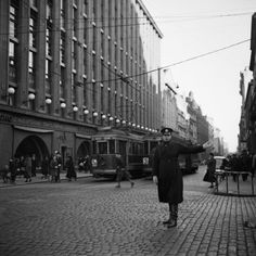 Helsinki in the Aho and Soldan Helsinki, Vintage Photographs, Vintage Photos, History Of Finland, Finnish Language, Ghost Sightings, Number 15, Monochrome Photography, Old City