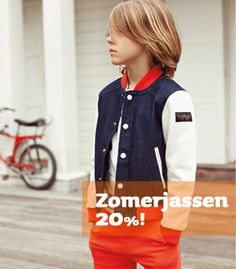 Alle nieuwe zomerjassen nu 20%  www.MiniRepublic.nl