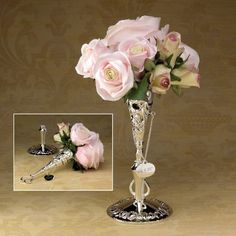 Victorian-Design Bridal Bouquet Holder